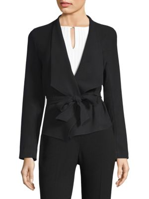 Jenn Tie Waist Jacket by Elie Tahari