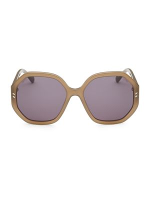 56MM Octagon Sunglasses