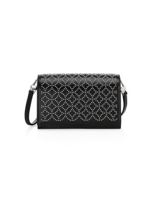 SMALL CONVERTIBLE LEATHER CROSSBODY BAG