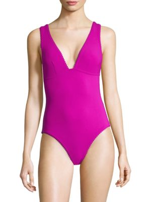 KARLA COLLETTO SWIM Savil V-Neck Maillot