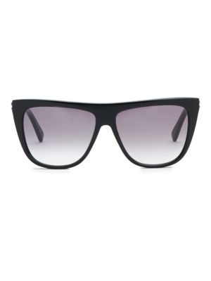 56MM Rectangle Sunglasses