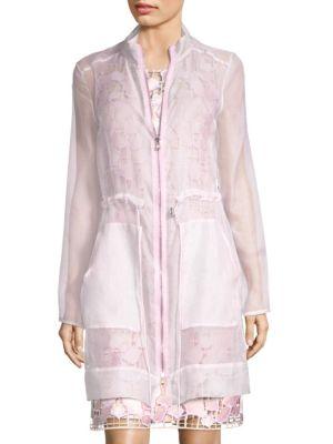Nicolette Silk Coat