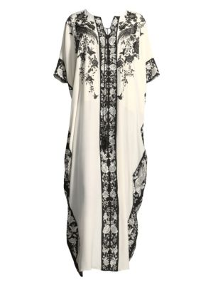 Peaceful Petals Silk Nightgown