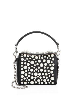 Nano Leather Box Bag