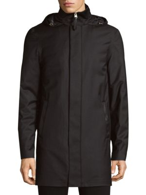 Thorin Hooded Water-Resistant Down Coat