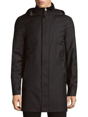 Thorin Hooded Water-Resistant Down Coat