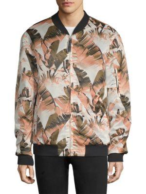 Printed Lightweight Bomber Jacket