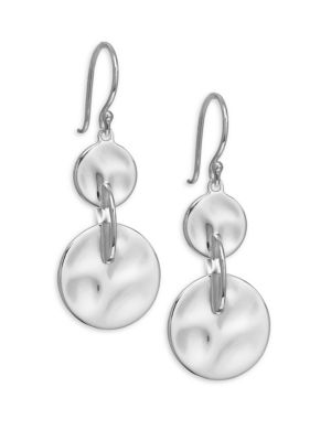 Connected Sterling SIlver Earrings
