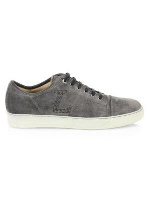 Velvet Low-Top Sneaker