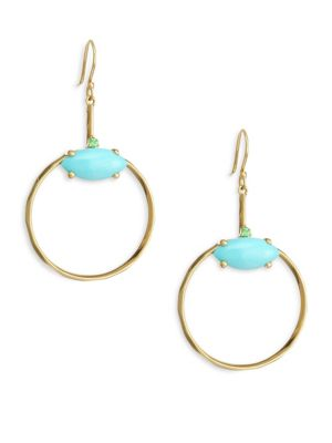18K Gold Prisma Marquise Earrings