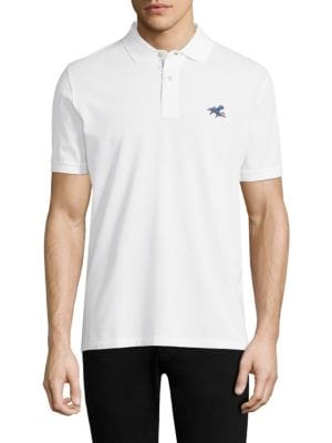Regular-Fit Cotton Polo