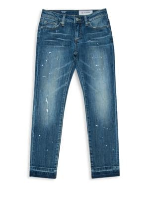 Girl's The Sierra Novelty Hem Jeans
