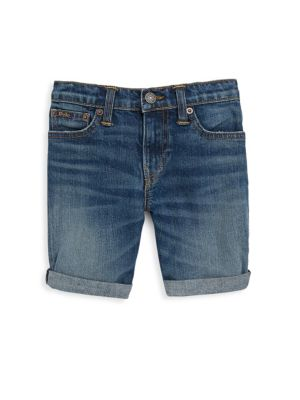 Toddler's, Little Boy's & Boys' Cuffed Jean Shorts