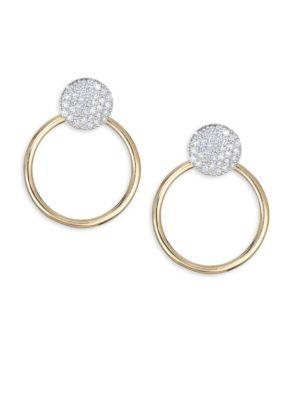 PHILLIPS HOUSE Diamond & 18K Yellow Gold Post Earrings