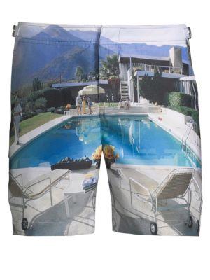 Photographic Bulldog Shorts
