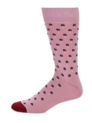 Graphic-Print Socks