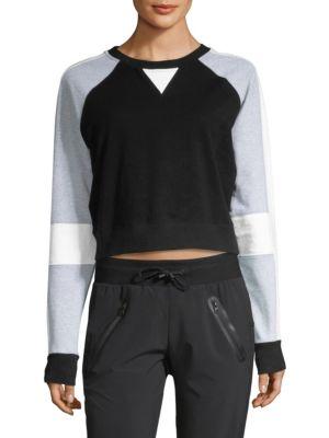 Flashback Crop Sweatshirt