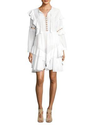 Windbreaker corset waist cotton-blend dress Sea New York rMNocb