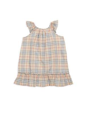 Baby's Tania Plaid-Print Shift Dress