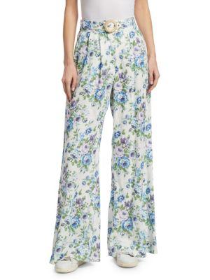Breeze Floral Slouch Pants