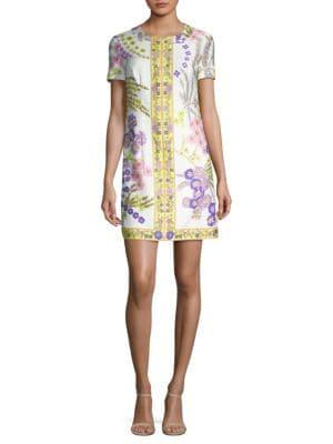 Arboretum Floral-Printed Cotton Dress
