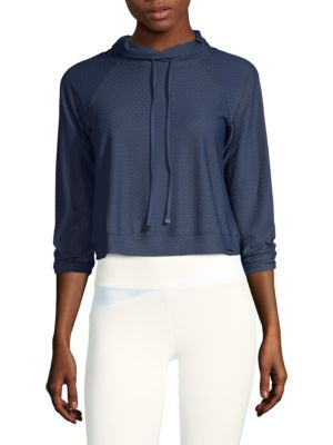Pump Cropped Pullover