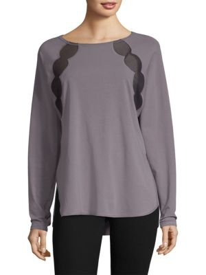 NANCY ROSE PERFORMANCE Fitz Cotton Pullover