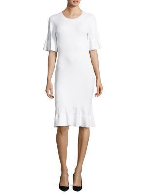 Textured Bodycon Dress