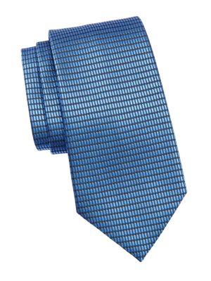 Net Jacquard Silk Tie