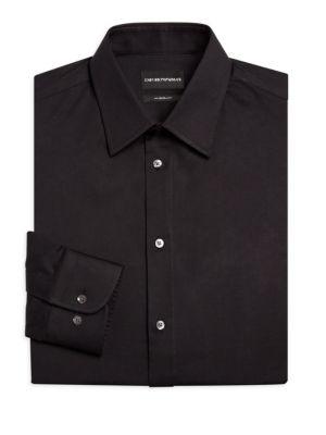 Basic Stretch Modern-Fit Dress Shirt