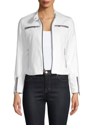 THE MIGHTY COMPANY Cropped Zip Jacket