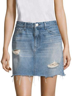 Celine Denim Mini Skirt