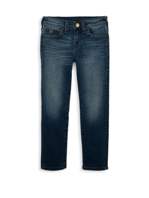 Toddler's, Little Boy's & Boy's Geno Single End Fade Jeans