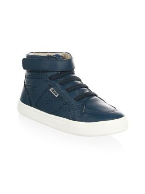 Toddler's & Kid's Starter High-Top Leather Sneakers