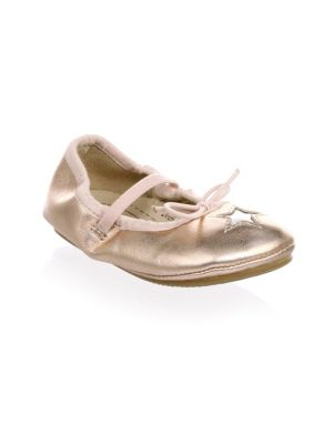Baby's & Toddler's Cruise-Star Leather Ballet Flats