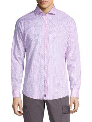 STRELLSON Slim-Fit Sereno Cotton Sport Shirt