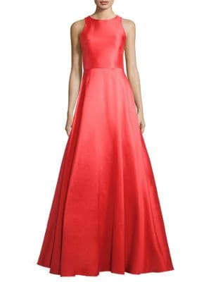 Low Shipping Fee For Sale Monique Lhuillier Sleeveless Evening Gown Outlet Wiki Low Cost Cheap Online Cheap Get To Buy Discount 2018 Unisex meypt