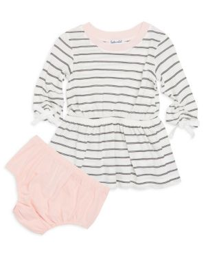 Baby's Two-Piece Dress & Bloomers Set
