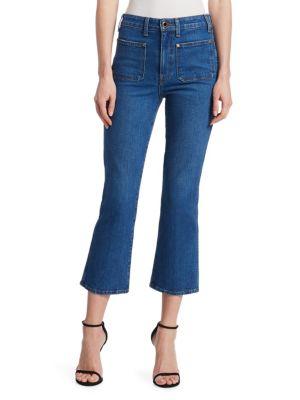 Rachel Patch Pocket Jeans