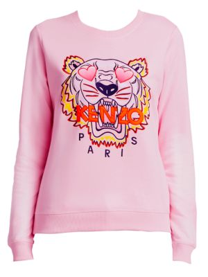 Classic Embroidered Tiger Sweatshirt