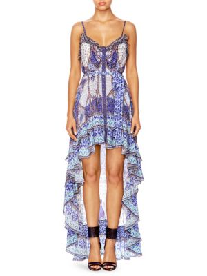 WINGS TO FLY HIGH LOW DRESS