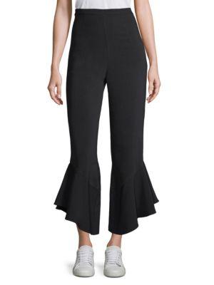 Sansone Ruffle Crop Pants