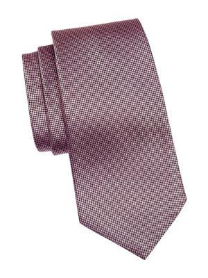 Silk Micro Diamond Tie