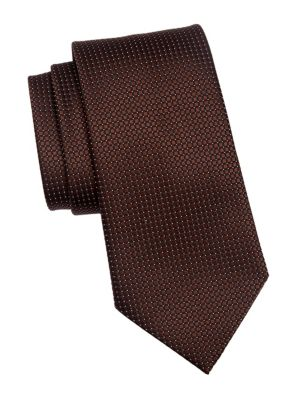 Silk Box Dot Tie