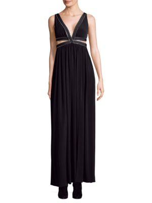 Maxi Zip Detail Dress