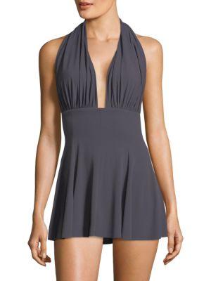 Halter Swim Dress