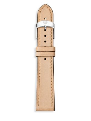 Thin Leather Watch Strap/18MM
