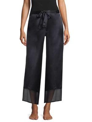 Silk Chiffon Pants