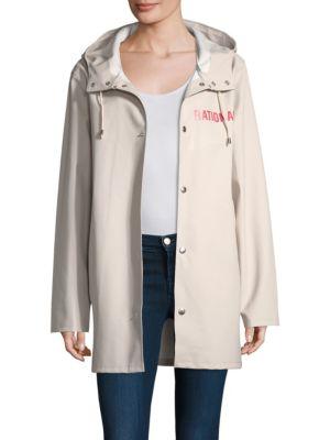 White Stutterheim Raincoat