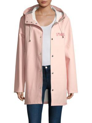 Pink Stutterheim Raincoat